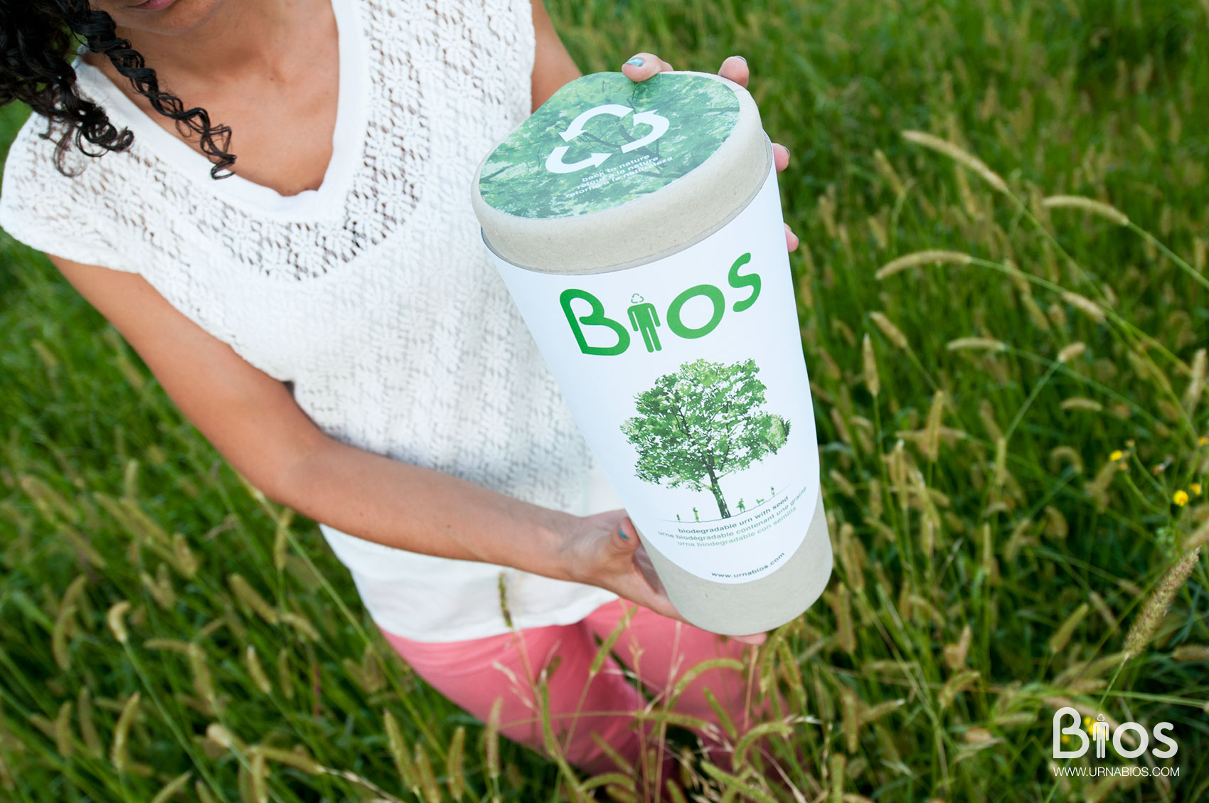 Find Living Urn Bios Urn at the Eco Expo