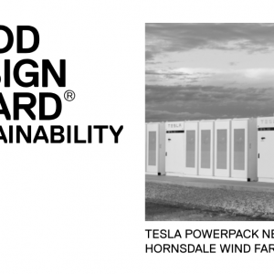 Tesla Powerpack's won two categories at the 2018 Good Design Awards
