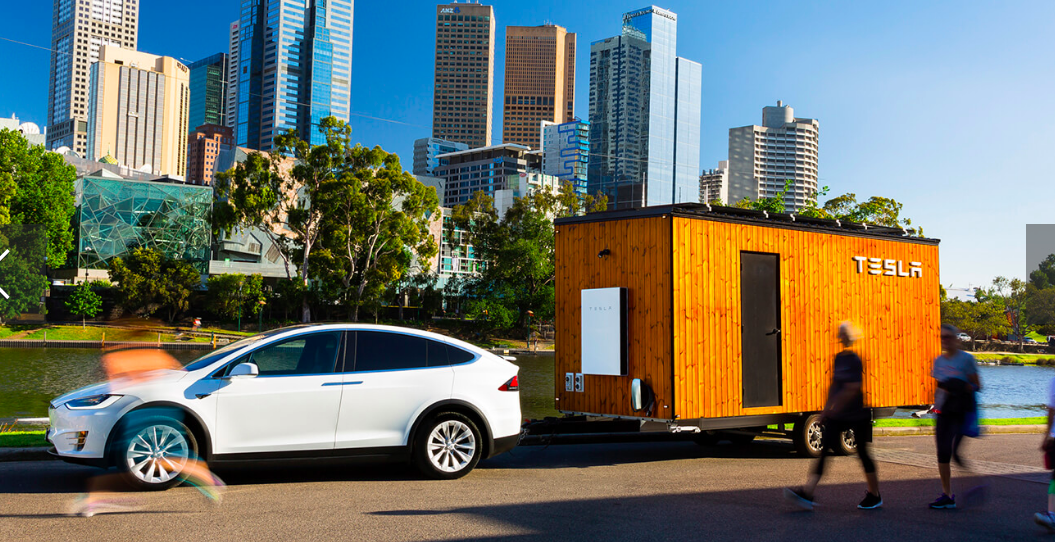 find tesla tiny house at the eco expo eco expo brisbane. Black Bedroom Furniture Sets. Home Design Ideas