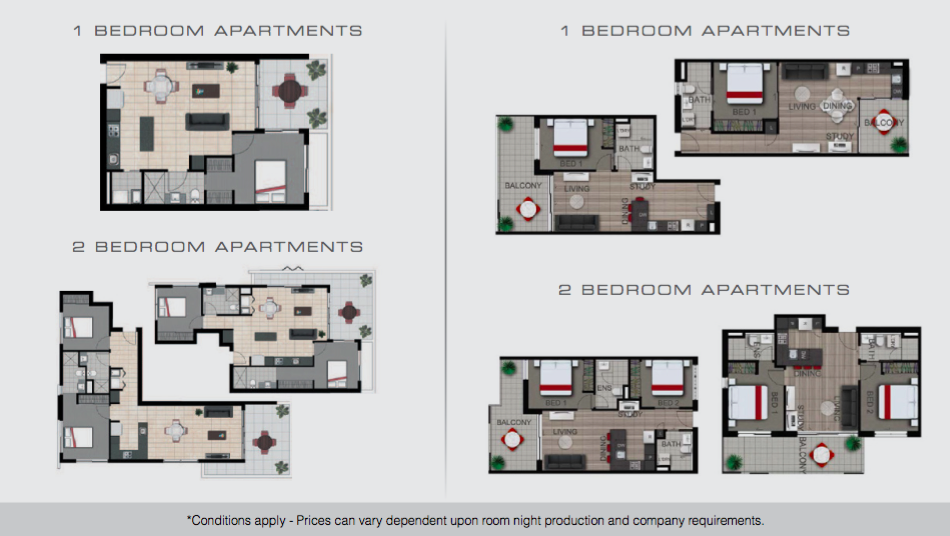 Direct Hotels Eco Expo Room Configurations