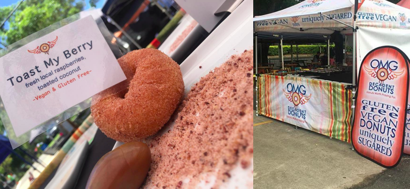 OMG Gluten Free Donuts at the Eco Expo