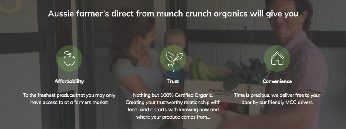 Munch Crunch Organics at the Eco Expo