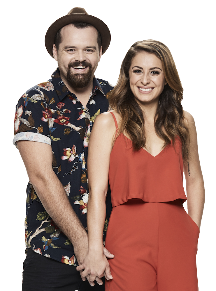 Alex and Emily MKR Winners