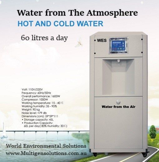 Prometheus Environment - Water from air at the Eco Expo