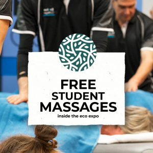 Free Massages at the Eco Expo